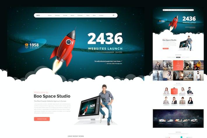 Landing Page Rocket