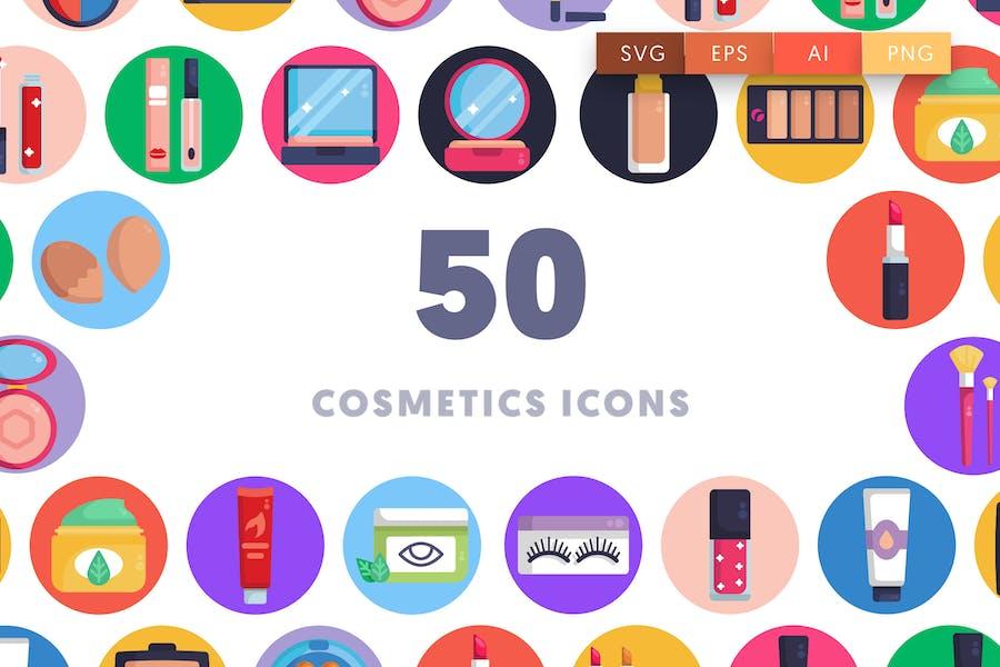 50 Cosmetics Icons