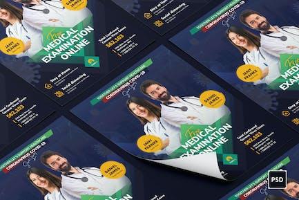 Medical Examination Flyer PSD Template