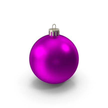 Розовый Рождественский орнамент