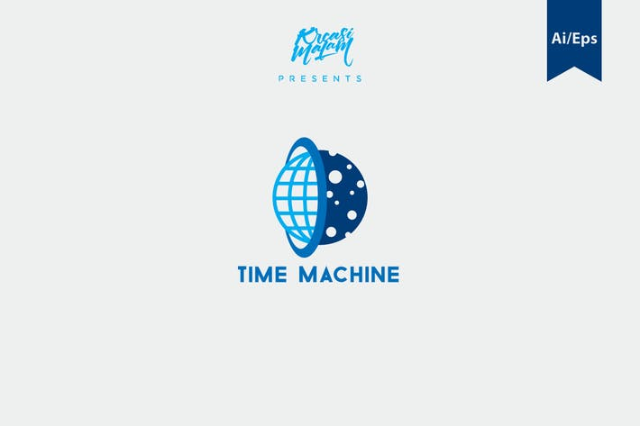Thumbnail for Time Machine Logo Template