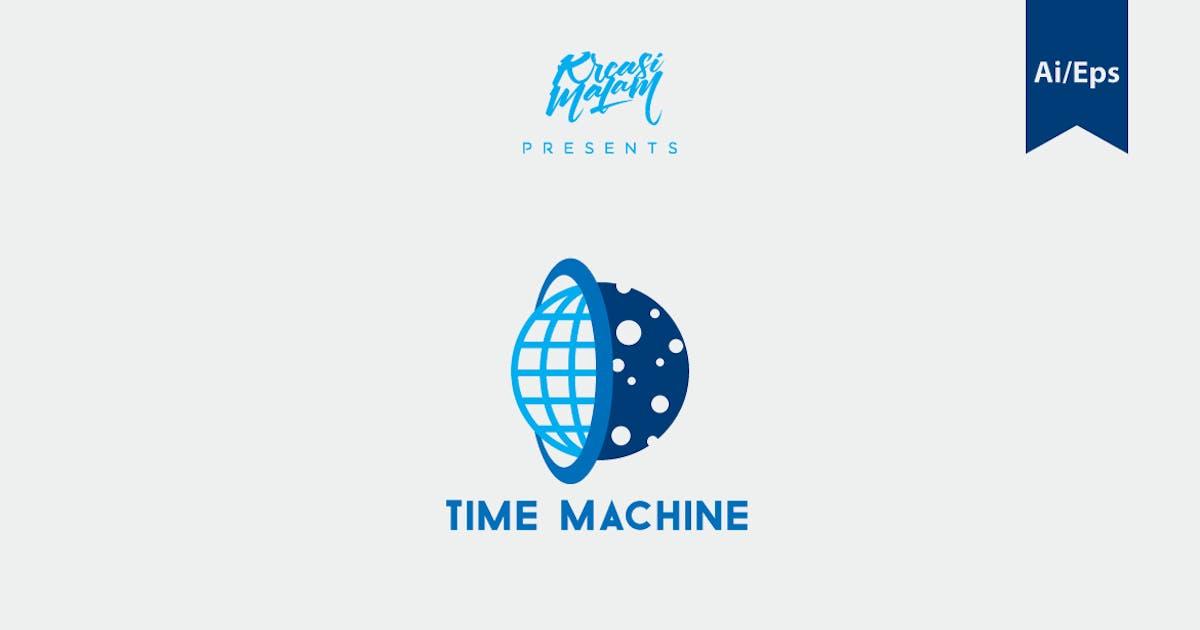 Download Time Machine Logo Template by Ijajil