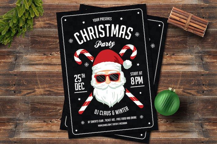Thumbnail for Christmas Santa Flyer