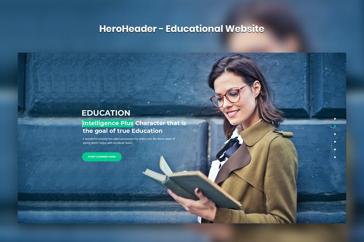 Thumbnail for HeroHeader for Educational Websites-08