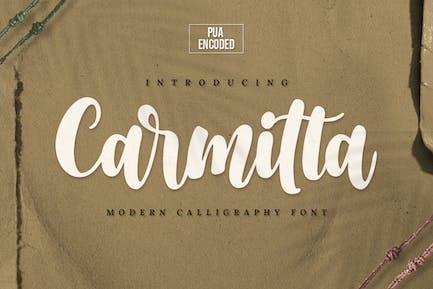 Carmitta - Modern Calligraphy Font