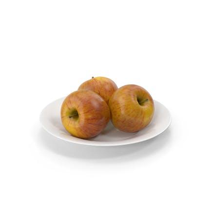 Plato con Manzanas