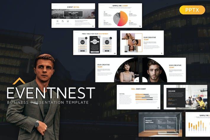 Thumbnail for Eventnest Business Presentation Template
