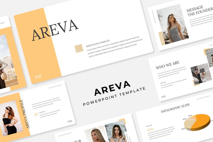 Cover Image For Areva - Power Point Template