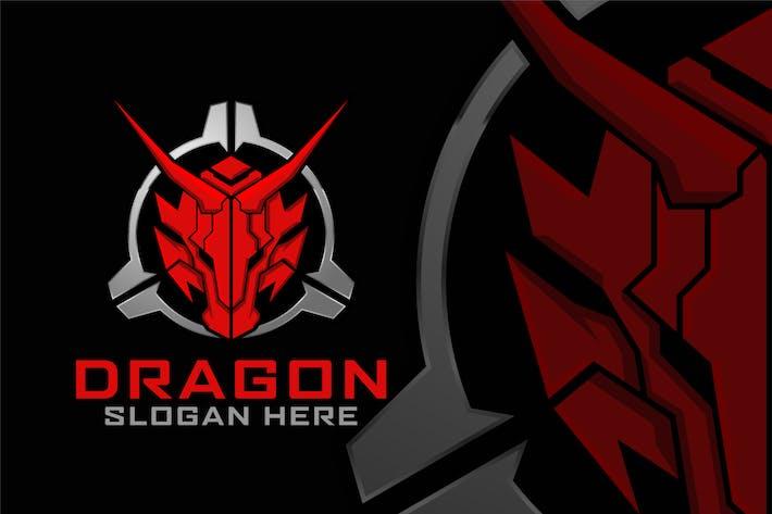 Thumbnail for Red Dragon Head Logo