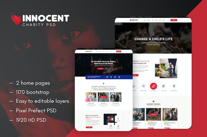 Thumbnail for Innocent - Modèle PSD de bienfaisance à but non lucratif