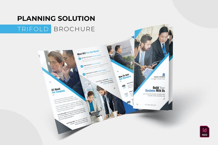 Thumbnail for Planning Solution | Trifold Brochure