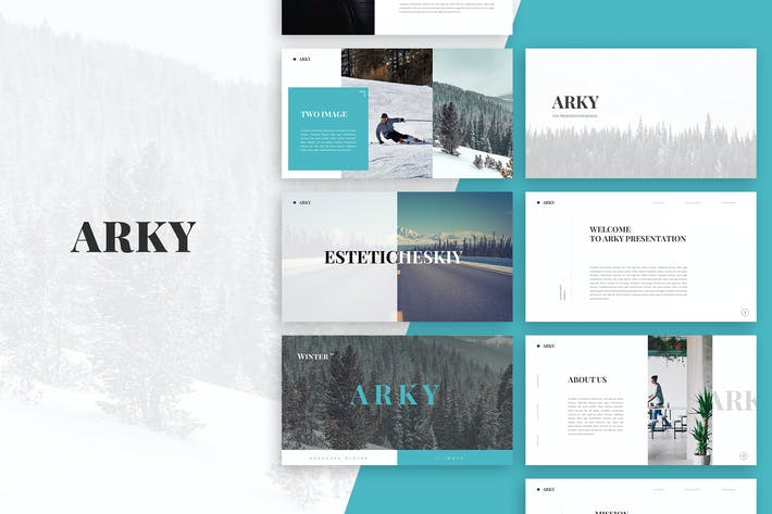 Thumbnail for Arky Google Slides Template