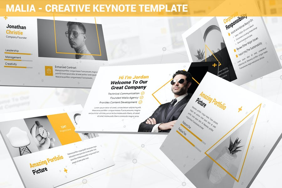 Malia - Creative Keynote Template