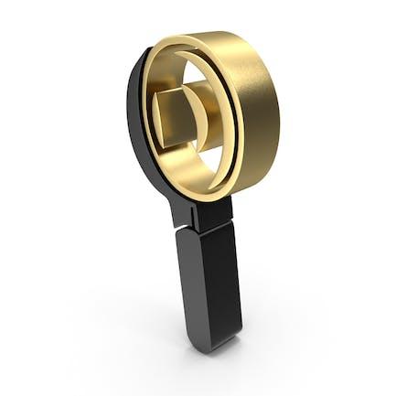 Magnifier Search Icon Logo