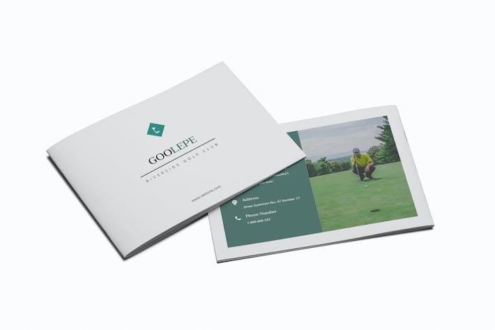Thumbnail for Golf A5 Brochure Template