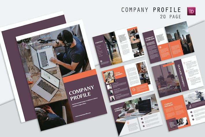 Thumbnail for Freelance Company Profile