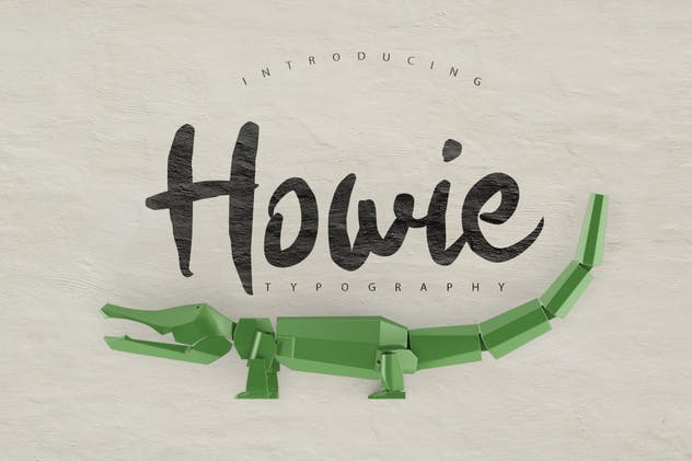 Howie Typeface - product preview 0