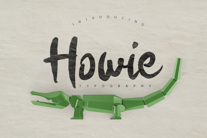 Thumbnail for Howie Typeface