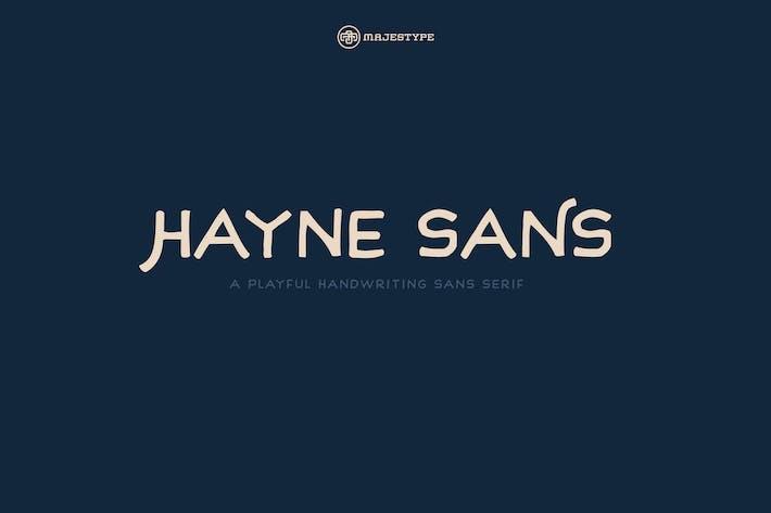 Thumbnail for Hayne Sans