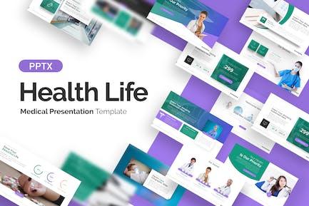 Health Life Medical Presentation Template