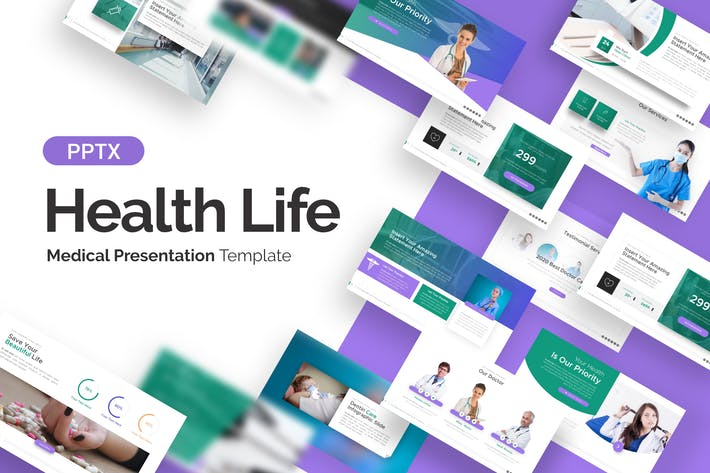Health Life Medical Presentation Template