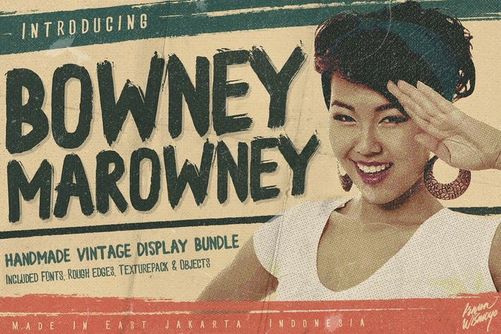 Cover Image For Bowney Marowney (Plus Rebel Edges)