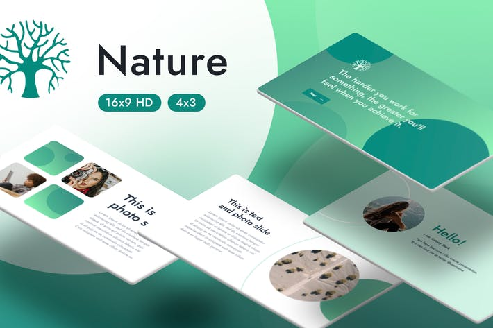Thumbnail for Nature Keynote Template
