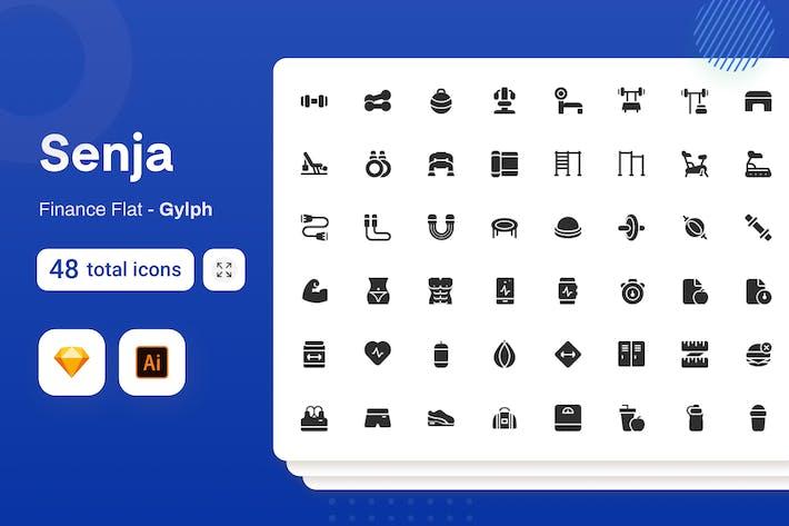 Gylph Senja - Fitness