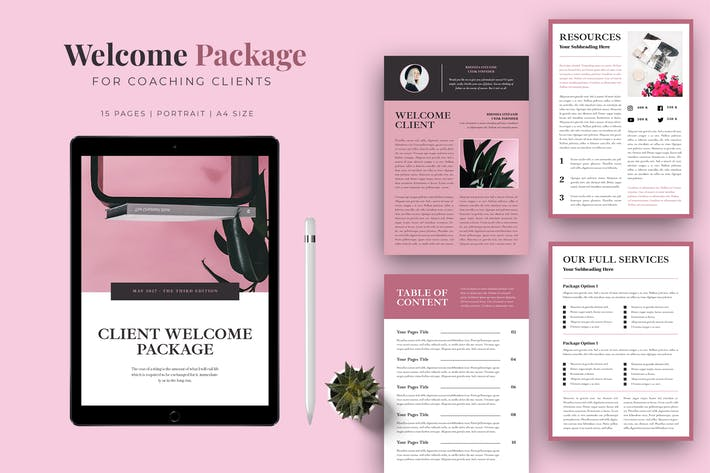 Thumbnail for Welcome Package for Coaching Clients
