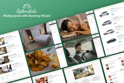 Splendida - Multipurpose with Booking Wizard