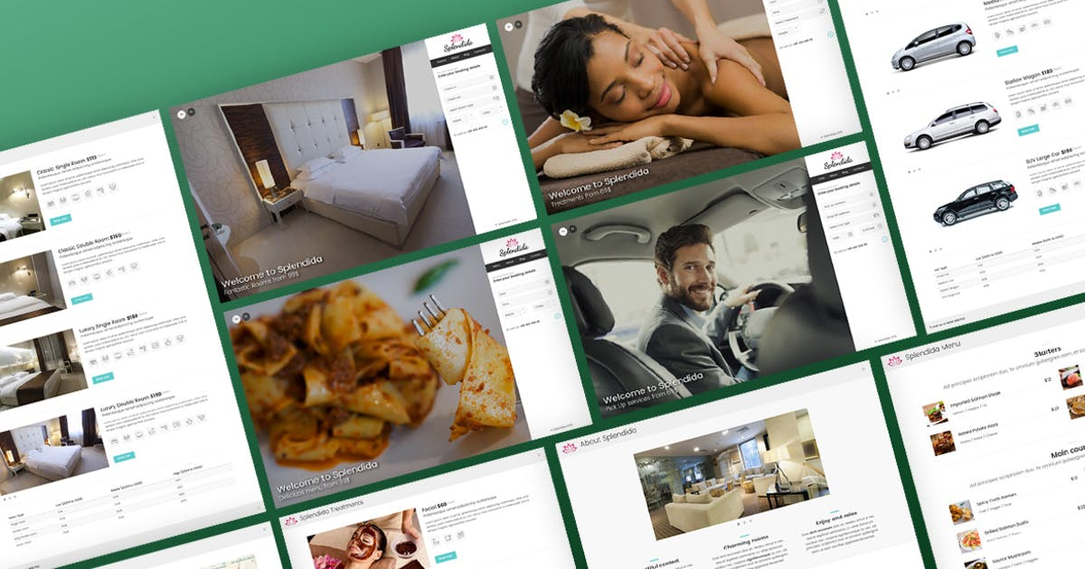 Download Splendida - Multipurpose with Booking Wizard by Ansonika