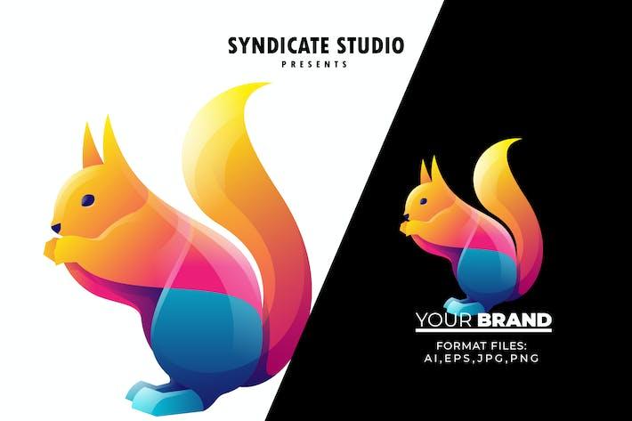 Squirrel Gradient Logo