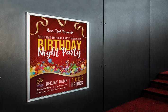Thumbnail for Birthday Party Poster