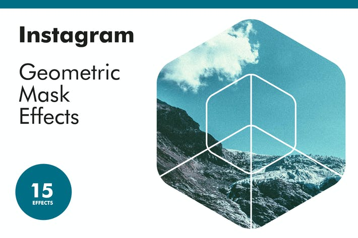 Thumbnail for Instagram Geometric Mask Effects