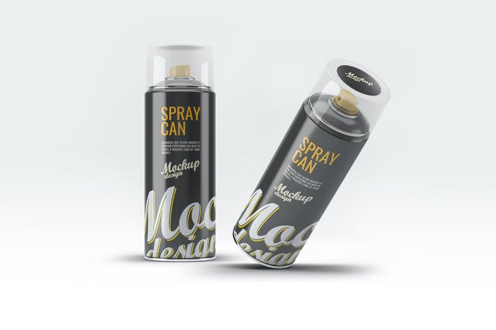 Spraydose Mock-Up