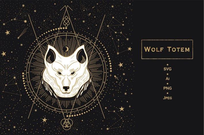 Thumbnail for Animal Totem. Wolf