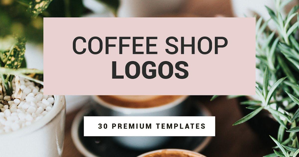 Download Coffee Shop Logos by designdistrictmx