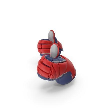 Thumbs Up Hockey Gloves