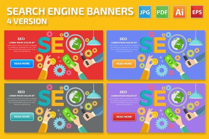 Thumbnail for SEO Banner Design