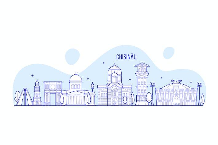 Thumbnail for Chisinau skyline, Moldova