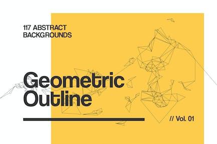 Contorno | Fondos Geométricos | Vol. 01