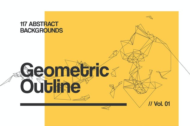 Outline   Geometric Backgrounds   Vol. 01