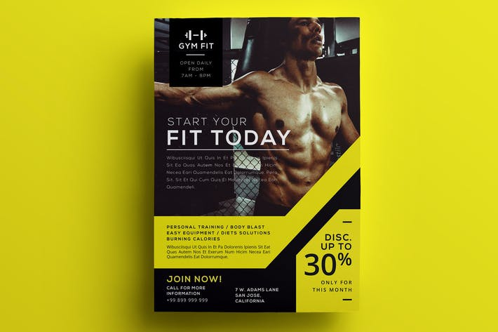 Thumbnail for Gym Flyer