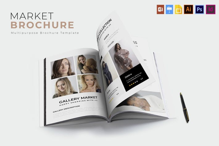 Thumbnail for Market | Brochure Template