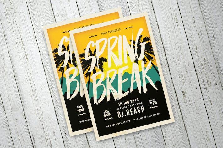 Thumbnail for Spring Break Flyer
