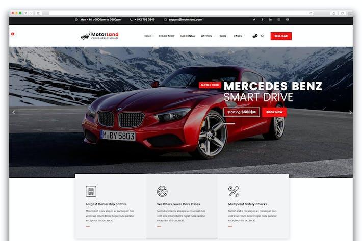 Download 20 Car Website Templates - Envato Elements