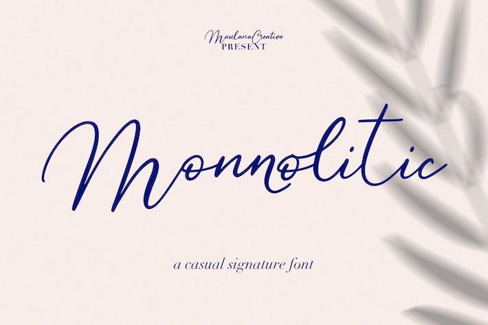 Police Signature Casual Monnolitic