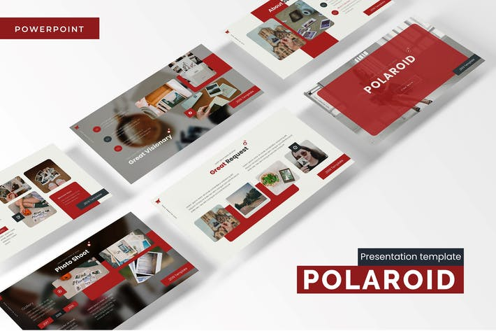 Thumbnail for Polaroid - Powerpoint Template