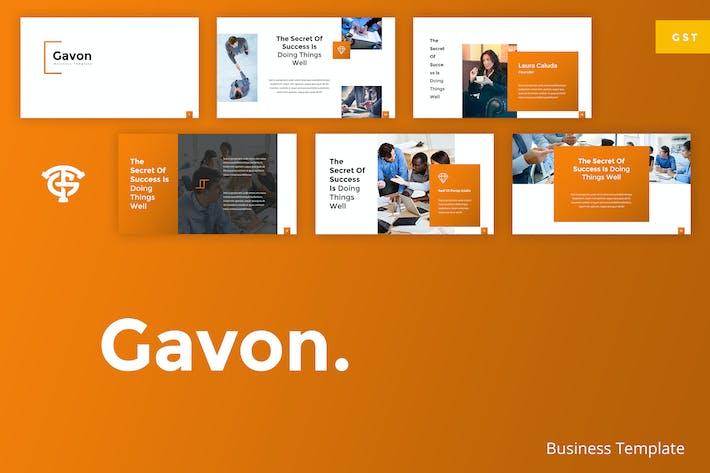 Thumbnail for Gavon Business - Google Slides