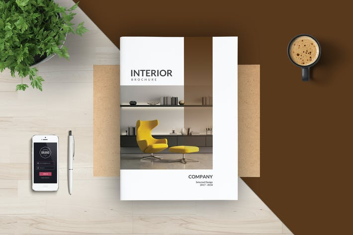 Thumbnail for Interior Catalogs Brochure Magazine
